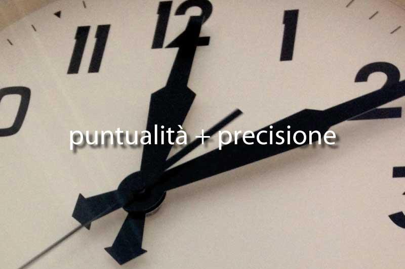 produzione del made in italy come puntualità e precisione