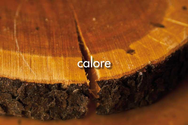 vantaggi del legno: calore