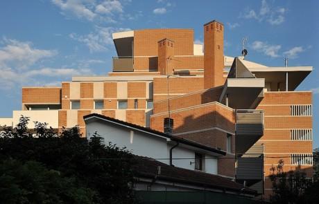 Serramenti in legno per Palazzo Manzoni - Via Parini - Vicenza 2