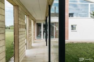 Alzanti scorrevoli in legno 2F - Residenza privata nella campagna veneta 11