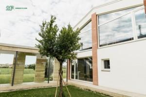 Alzanti scorrevoli in legno 2F - Residenza privata nella campagna veneta 5