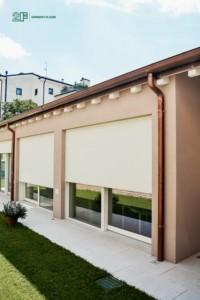 serramenti legno-alluminio per residenza privata a Vicenza