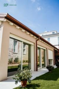 serramenti legno-alluminio per residenza privata a Vicenza 3
