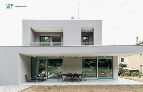 Serramenti legno alluminio rasomuro 2F Modern Living Vicenza 1