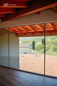 serramenti legno alluminio 2F - Villa Colli Berici - Vicenza 10