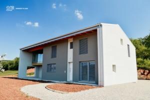 serramenti legno alluminio 2F - Villa Colli Berici - Vicenza 2