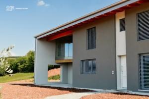 serramenti legno alluminio 2F - Villa Colli Berici - Vicenza 3
