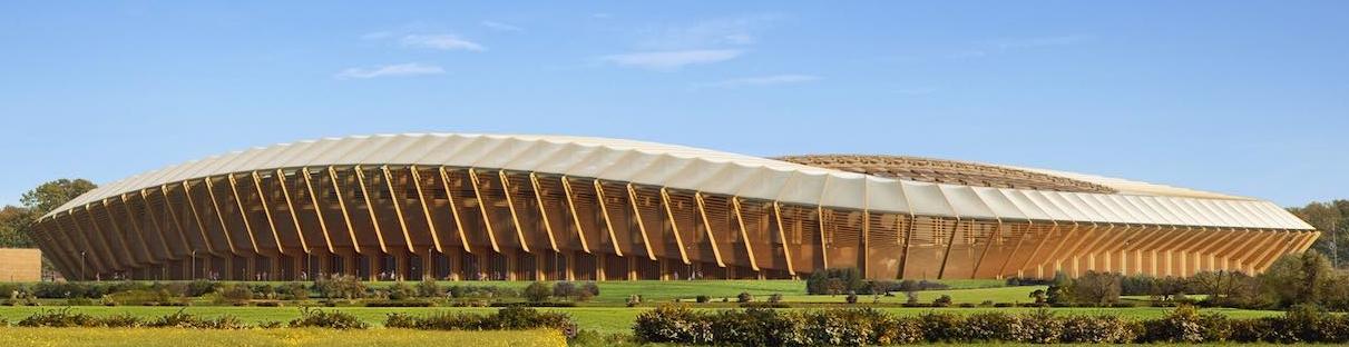 stadio in legno