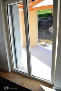 Serramenti in legno per casa passiva di Susegana -Treviso - Veneto - 7