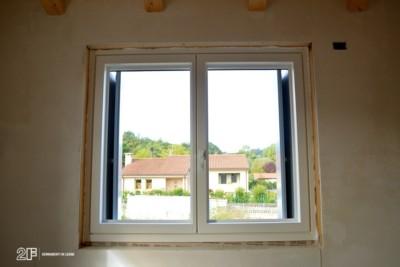 Serramenti in legno per casa passiva di Susegana -Treviso - Veneto - 6