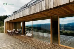 Serramenti-in-legno-2F-Villa-privata-Altopiano-di-Asiago-Roana-Vicenza 13