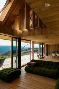 Serramenti in legno Clima 80 Linea Recta 3