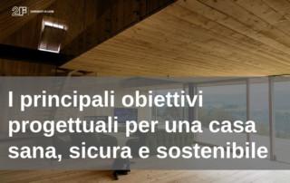 casa sana con i serramenti in legno