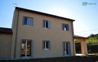 Serramenti in legno per casa passiva in xlam di Susegana -Treviso - Veneto - 1