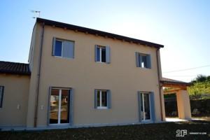 Serramenti in legno per casa passiva di Susegana -Treviso - Veneto - 23
