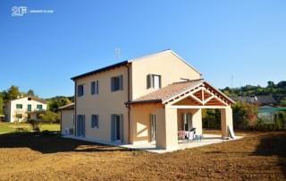 Serramenti in legno per casa passiva di Susegana -Treviso - Veneto - 22
