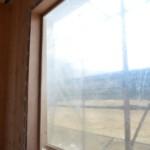 Serramenti in legno 2F per casa passiva xlam in Veneto - posa in opera 10