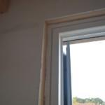 Serramenti in legno 2F per casa passiva xlam in Veneto - posa in opera 13
