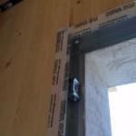 Serramenti in legno 2F per casa passiva xlam in Veneto - posa in opera 16