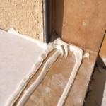 Serramenti in legno 2F per casa passiva xlam in Veneto - posa in opera 19