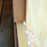 Serramenti in legno 2F per casa passiva xlam in Veneto - posa in opera 9