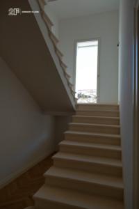 Villa liberty contemporanea - serramenti in legno laccato bianco - 24
