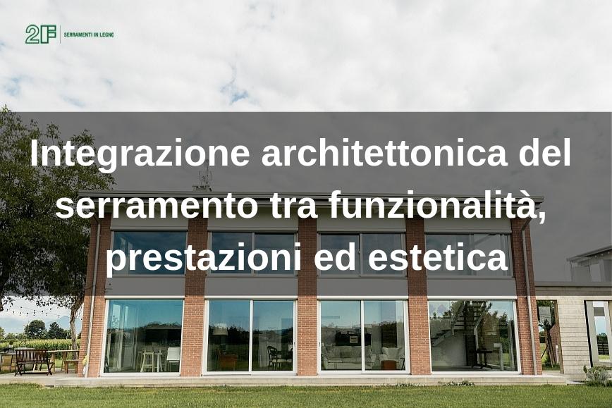 Integrazione architettonica del seramento in legno 2F - Vicenza - Veneto