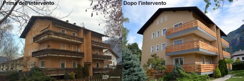 retrofit energetico - serramenti legno alluminio - Ora - Bolzano - 11
