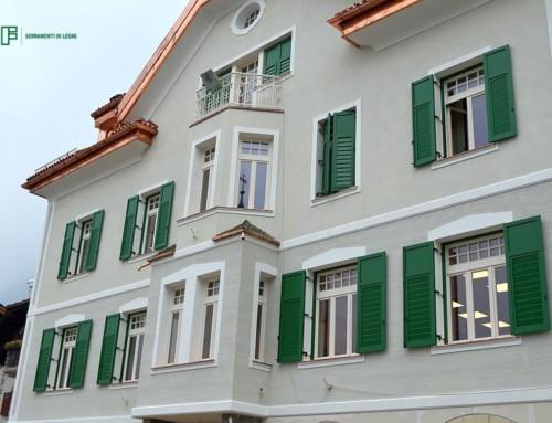 Riqualificazione energetica e restauro artistico per il municipio di Marlengo (BZ)
