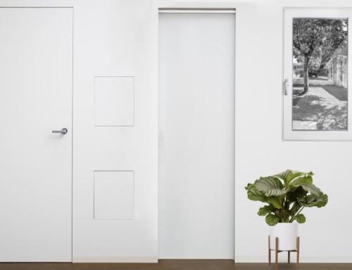 Finestre e porte filomuro 2F: sintesi di eleganza ed essenzialità