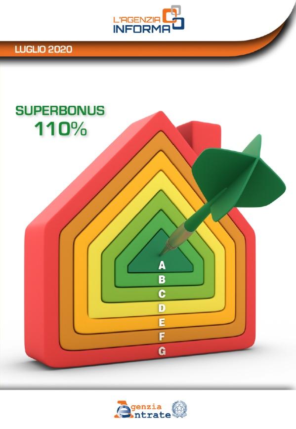 Superbonus 110% - guida dell'Agenzia delle Entrate