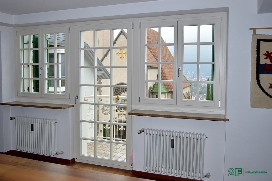 Stile per le tue finestre - stile classico